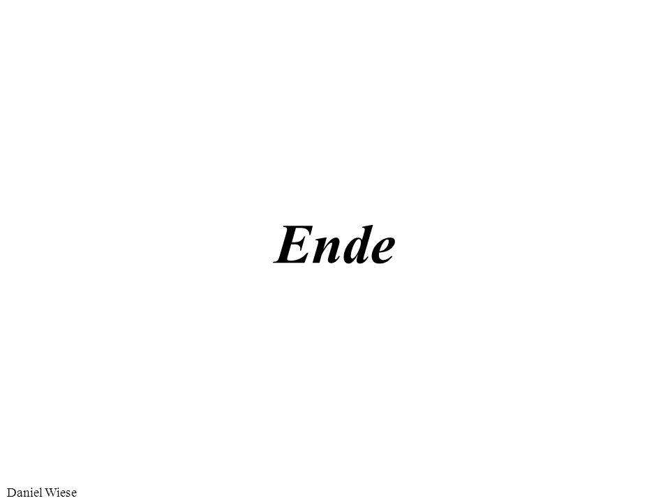 Ende Daniel Wiese