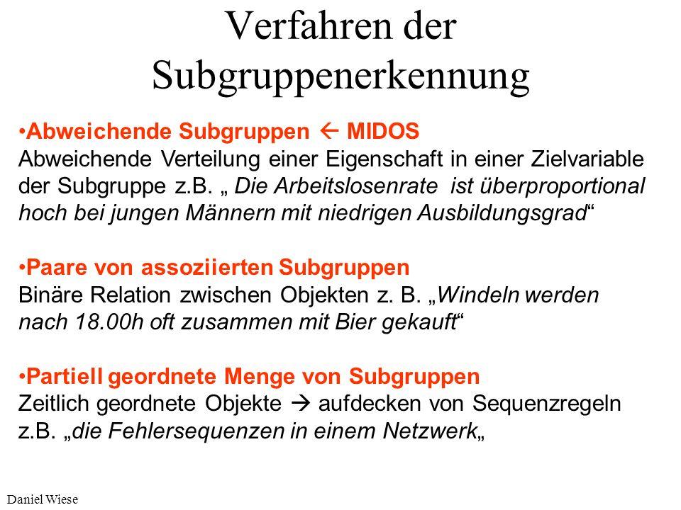Verfahren der Subgruppenerkennung