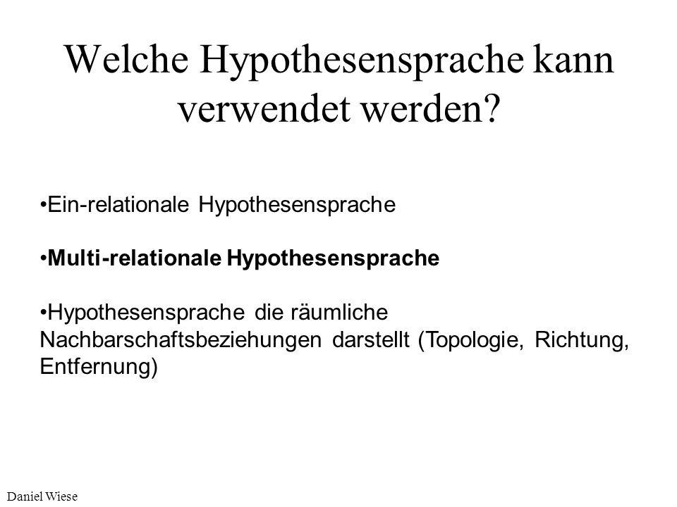 Welche Hypothesensprache kann verwendet werden