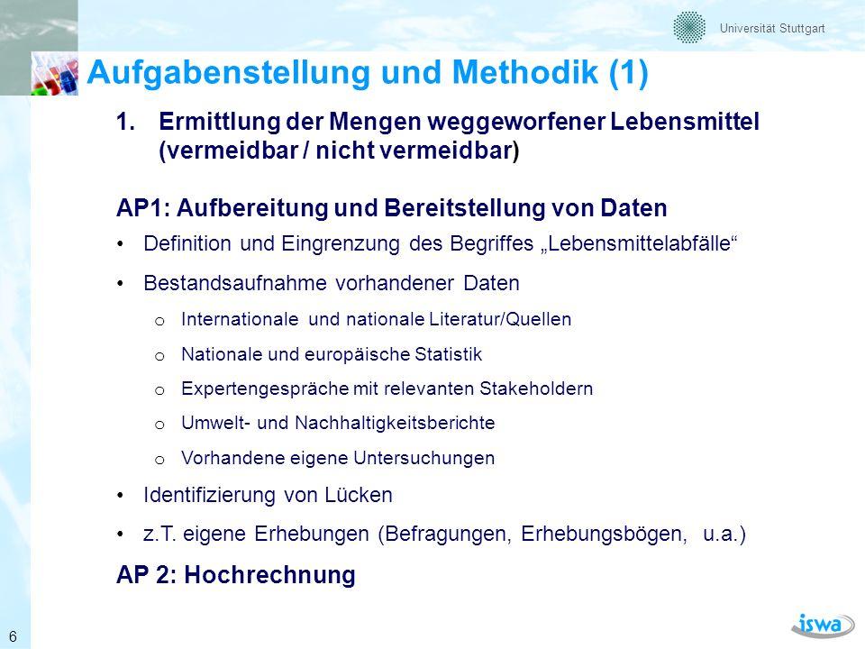 Aufgabenstellung und Methodik (1)