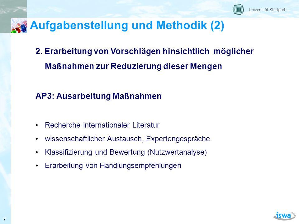 Aufgabenstellung und Methodik (2)