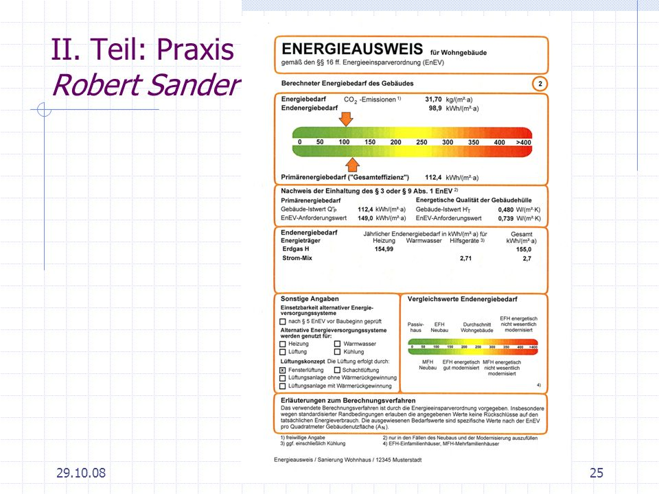 II. Teil: Praxis Robert Sander
