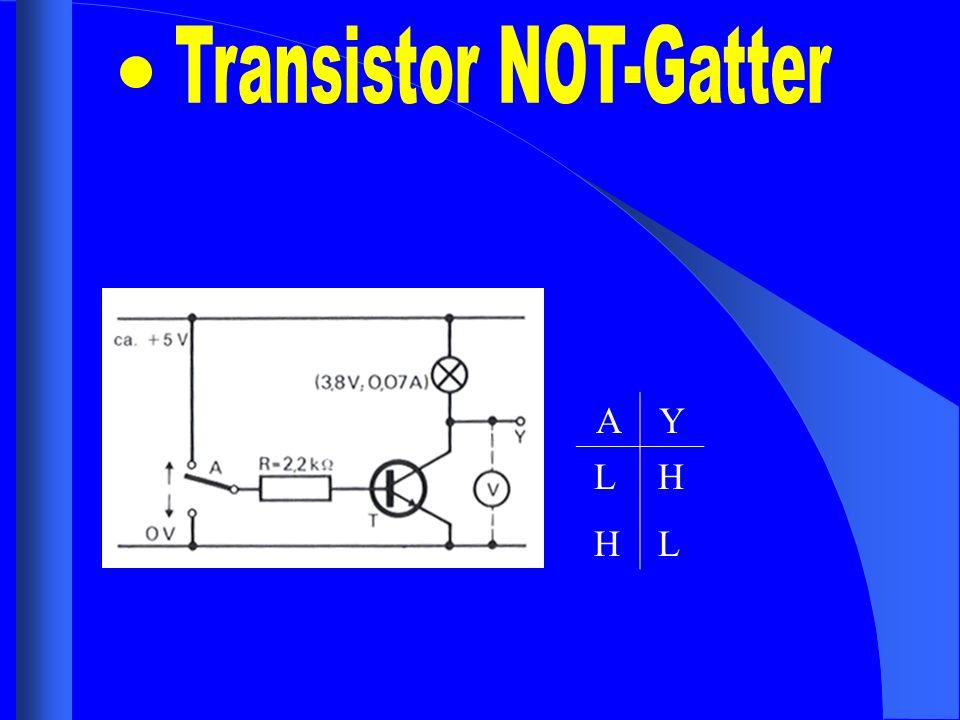 Transistor NOT-Gatter