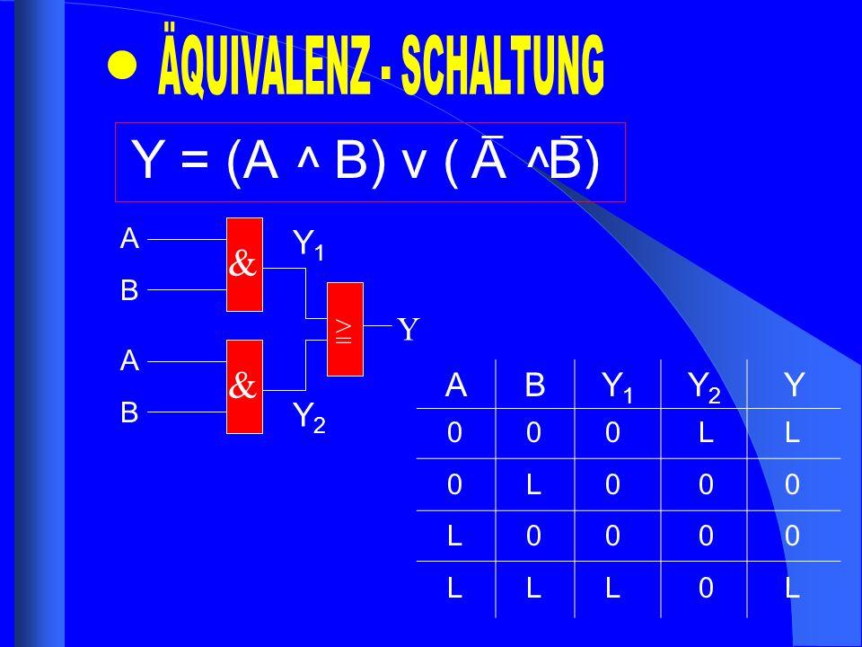ÄQUIVALENZ - SCHALTUNG