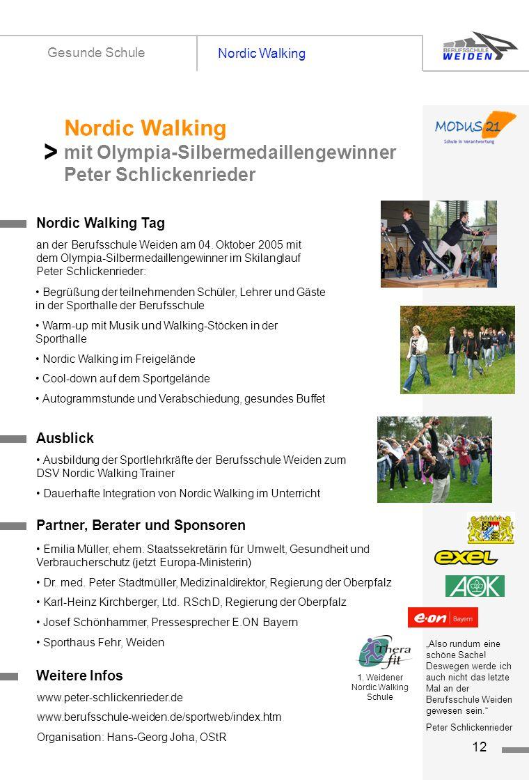 1. Weidener Nordic Walking Schule