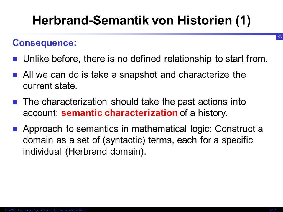 Herbrand-Semantik von Historien (1)