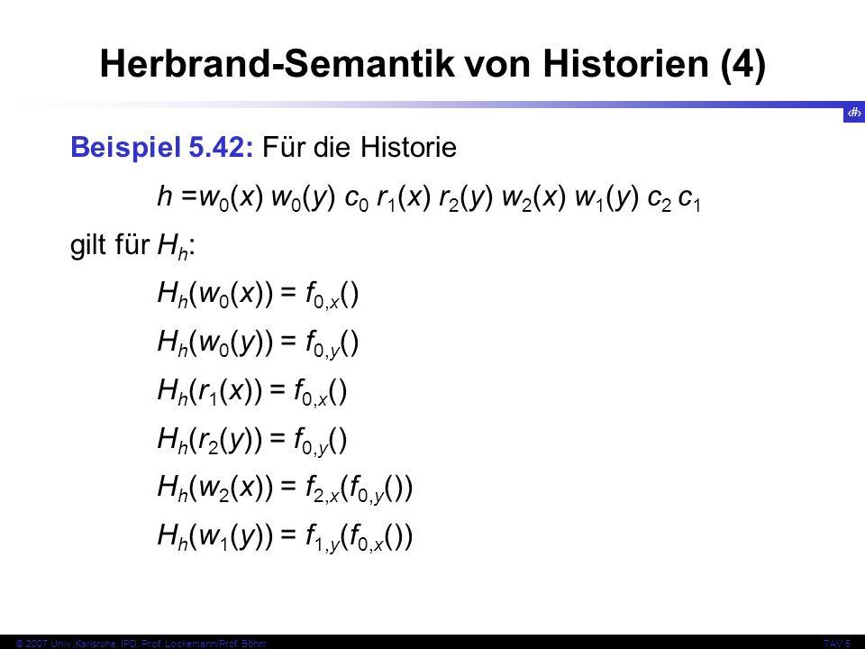 Herbrand-Semantik von Historien (4)