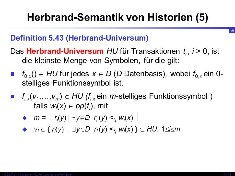 Herbrand-Semantik von Historien (5)