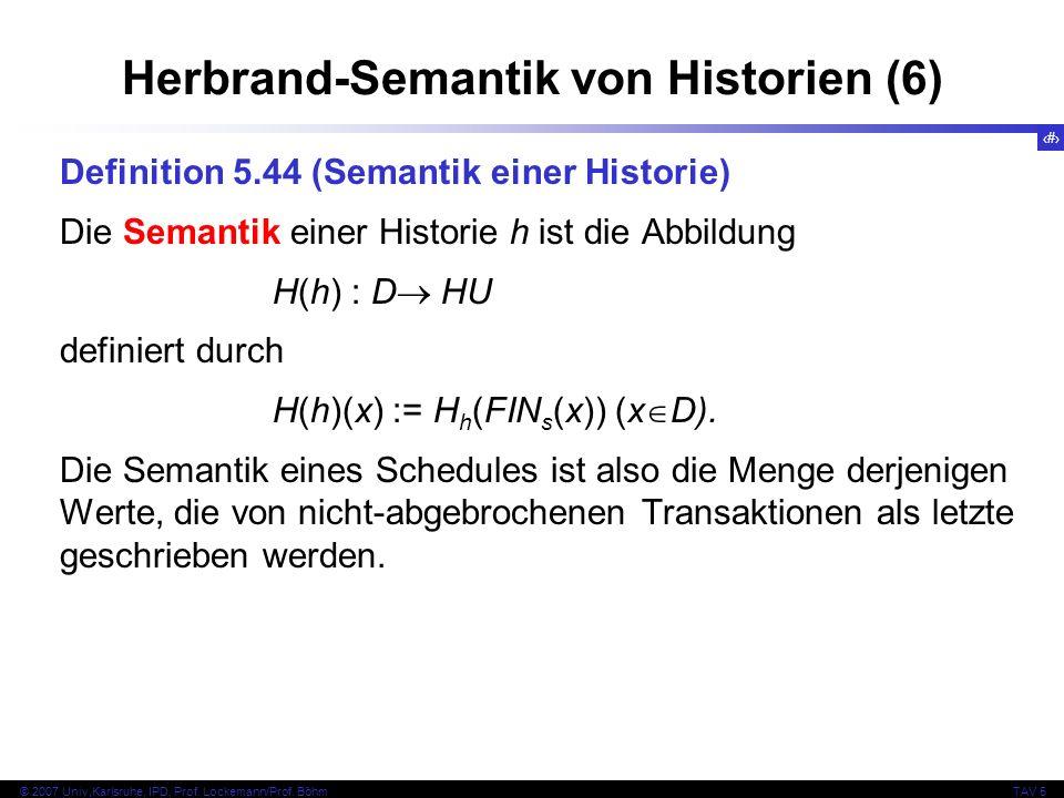 Herbrand-Semantik von Historien (6)