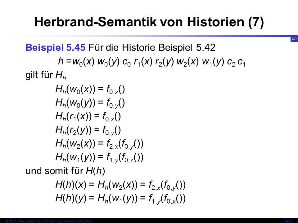 Herbrand-Semantik von Historien (7)