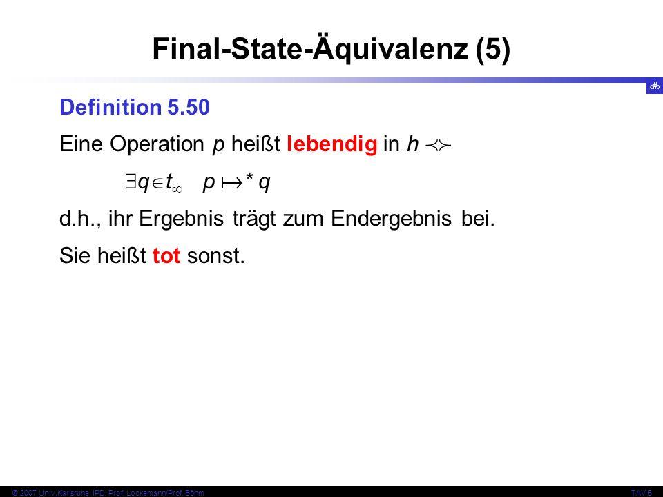 Final-State-Äquivalenz (5)