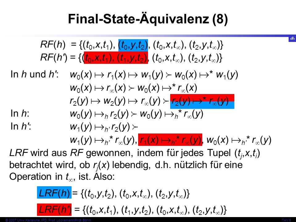 Final-State-Äquivalenz (8)