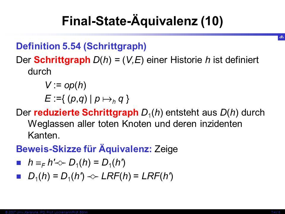 Final-State-Äquivalenz (10)
