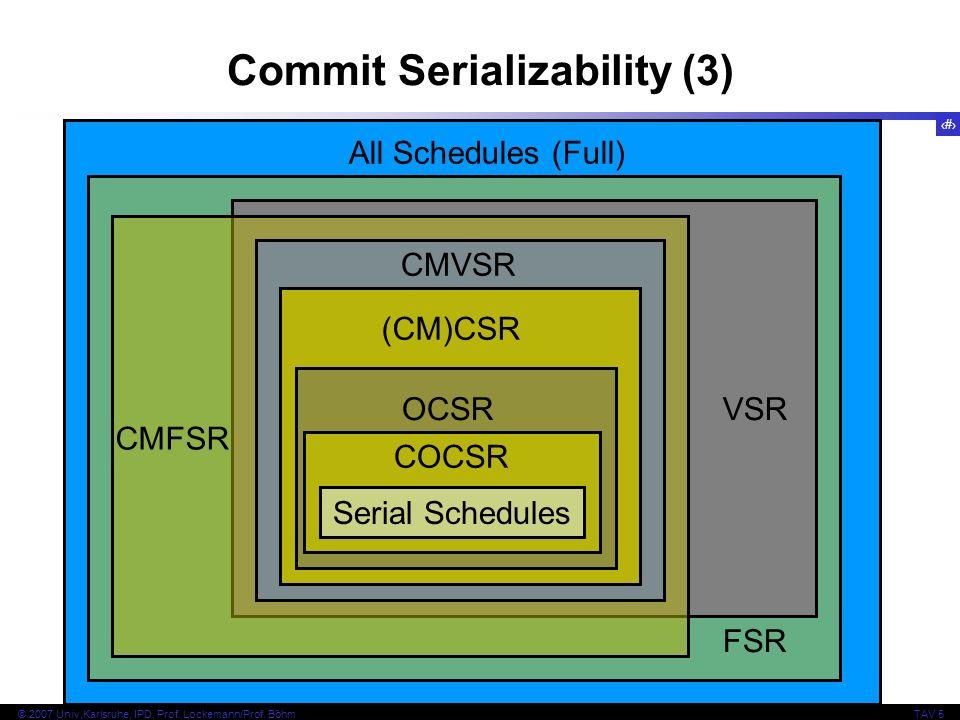 Commit Serializability (3)