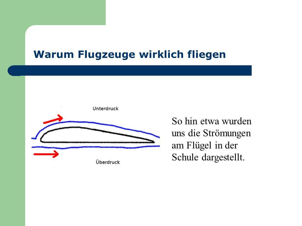 Warum Flugzeuge wirklich fliegen