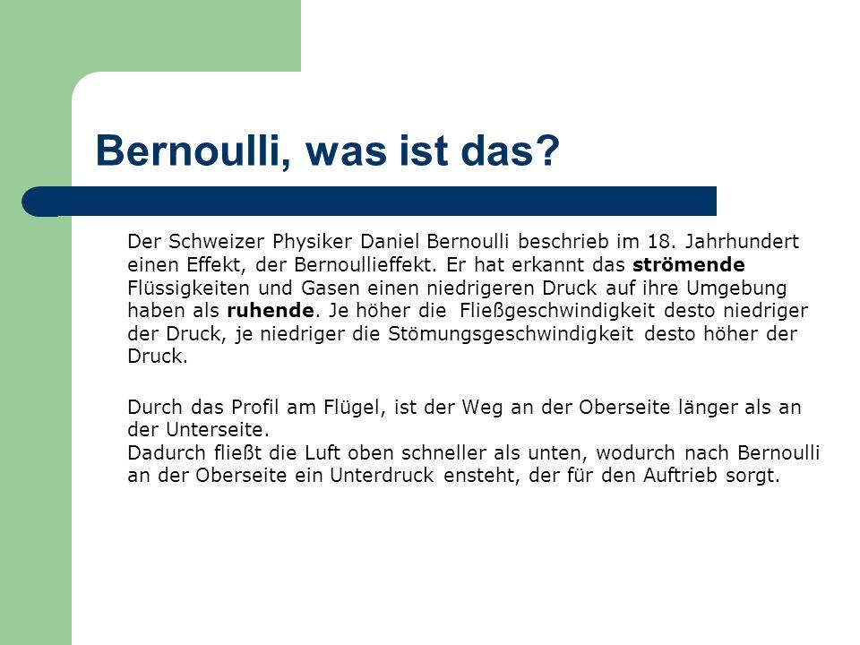 Bernoulli, was ist das