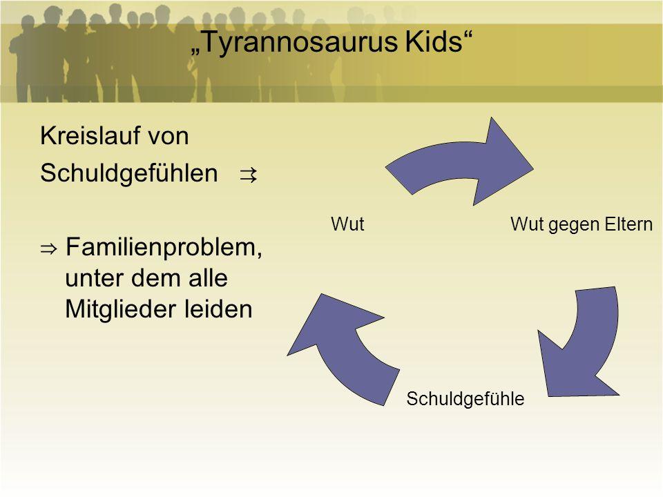 """""""Tyrannosaurus Kids Kreislauf von Schuldgefühlen ⇉"""