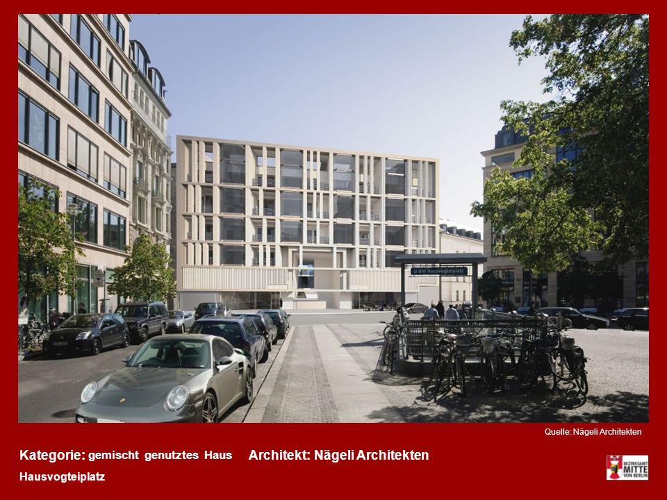Kategorie: Architekt: Nägeli Architekten gemischt genutztes Haus
