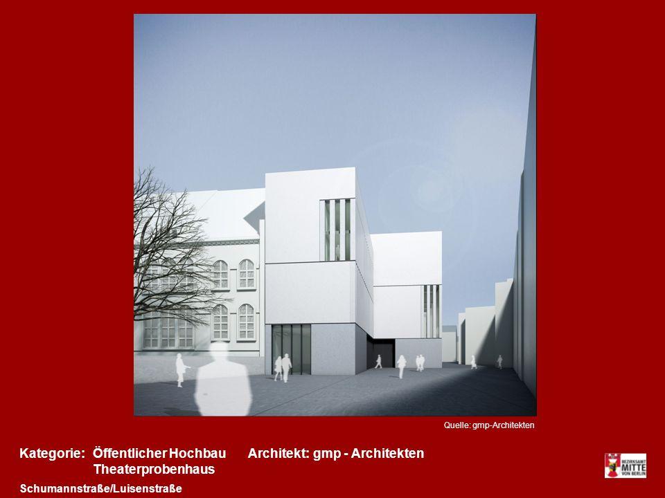 Kategorie: Öffentlicher Hochbau Architekt: gmp - Architekten