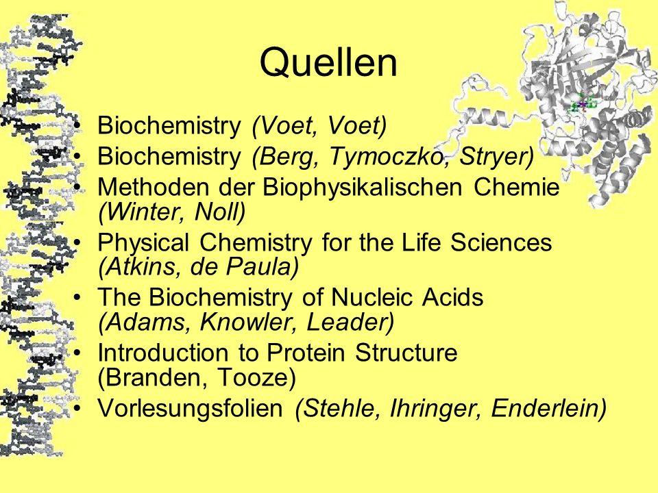 Quellen Biochemistry (Voet, Voet)