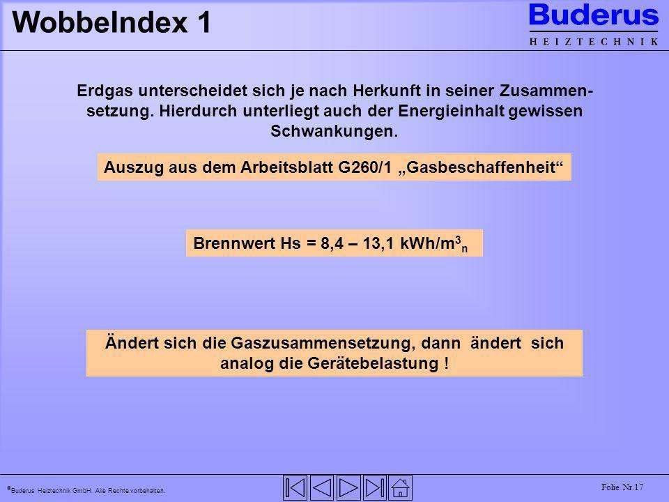 WobbeIndex 1
