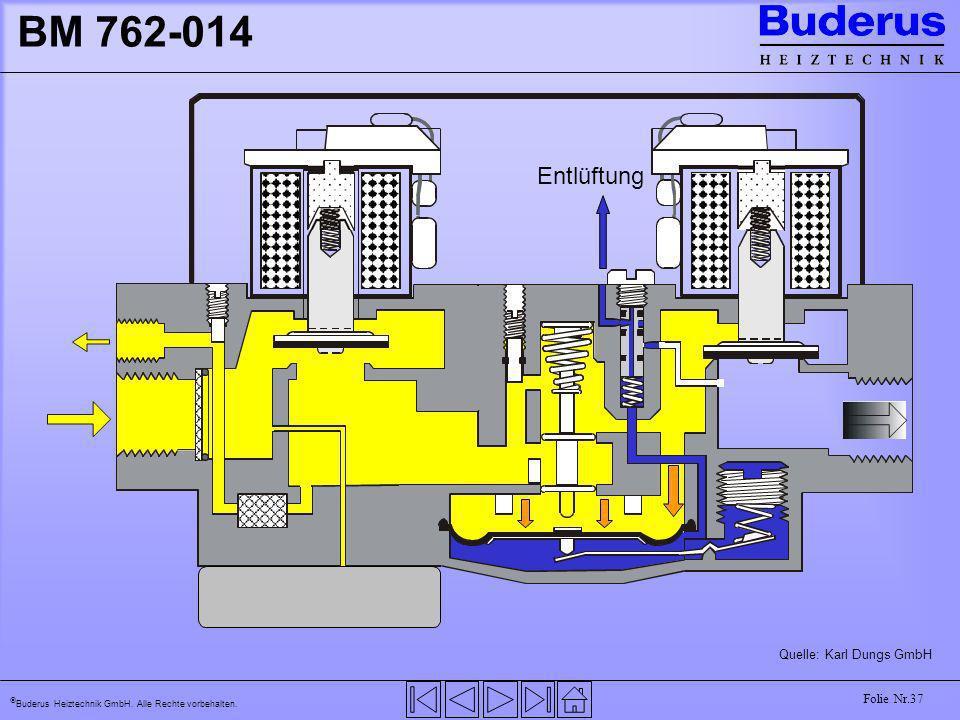 BM 762-014 Entlüftung Quelle: Karl Dungs GmbH