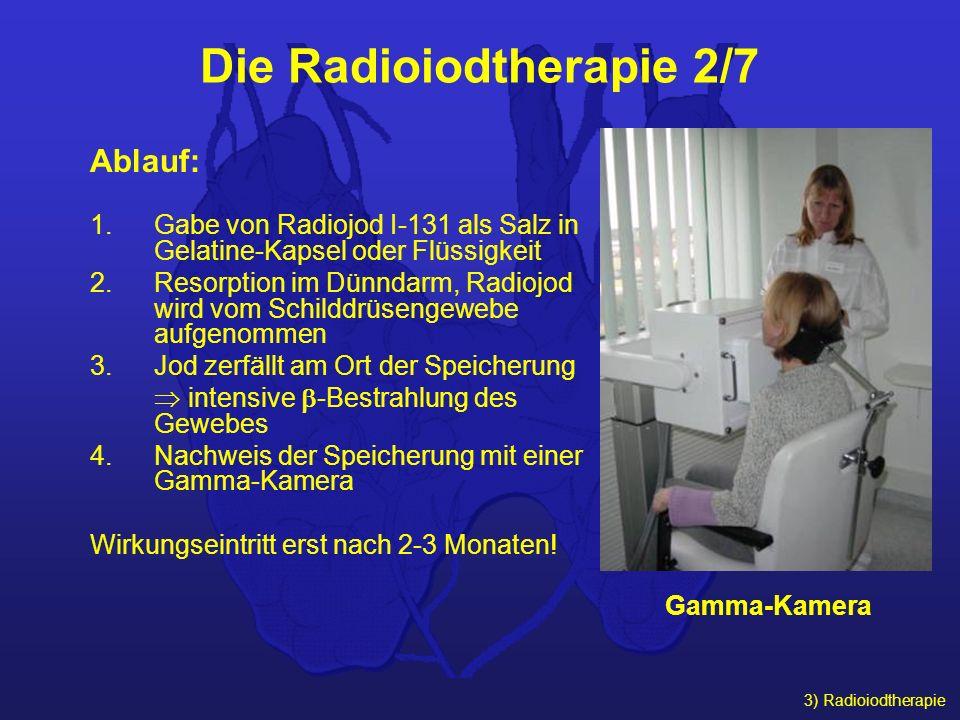 Die Radioiodtherapie 2/7