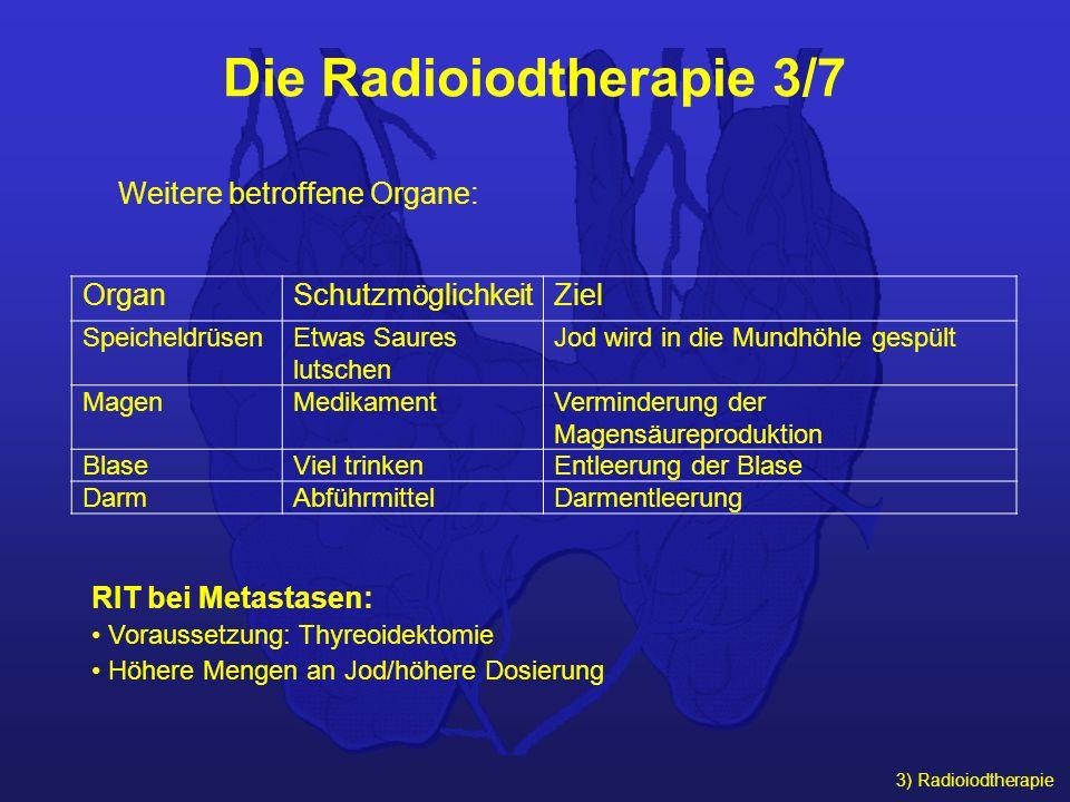 Die Radioiodtherapie 3/7