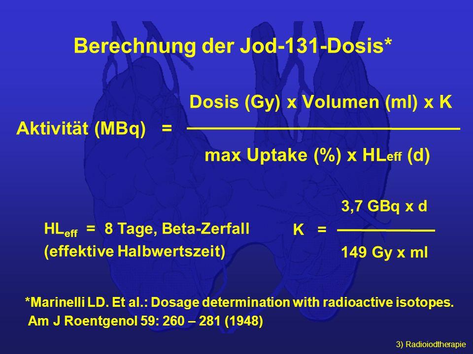 Berechnung der Jod-131-Dosis*