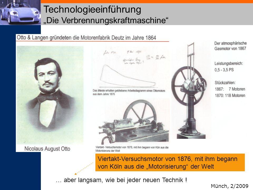 """Technologieeinführung """"Die Verbrennungskraftmaschine"""