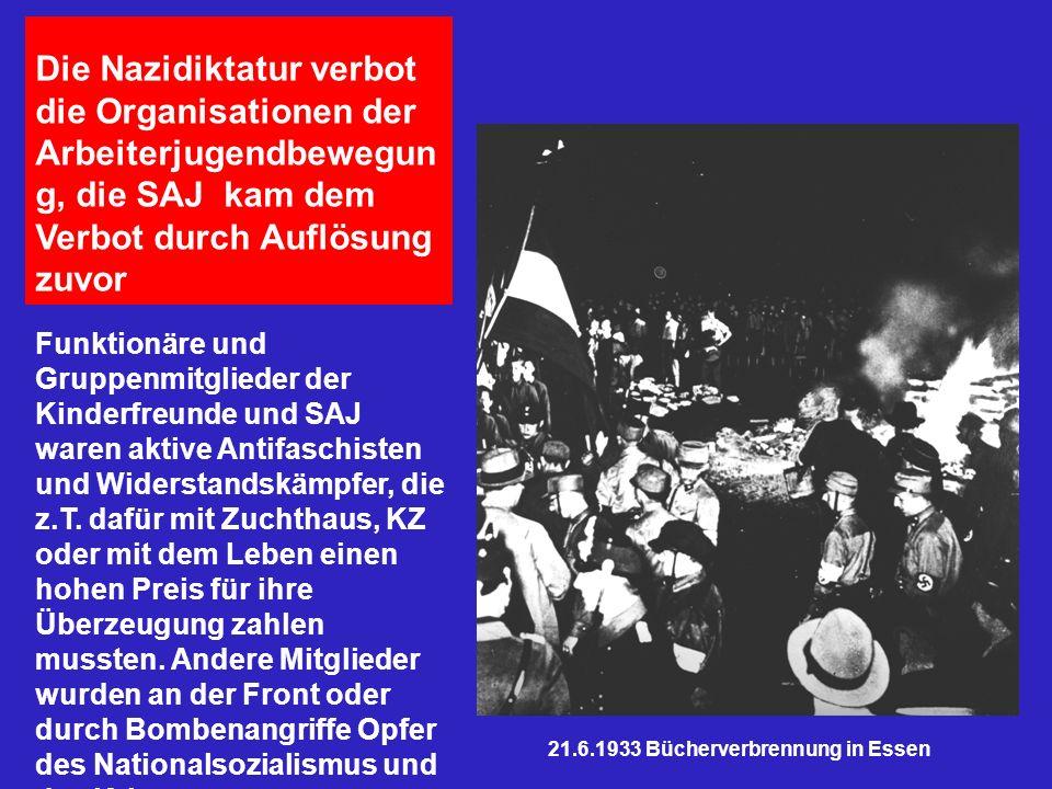 21.6.1933 Bücherverbrennung in Essen