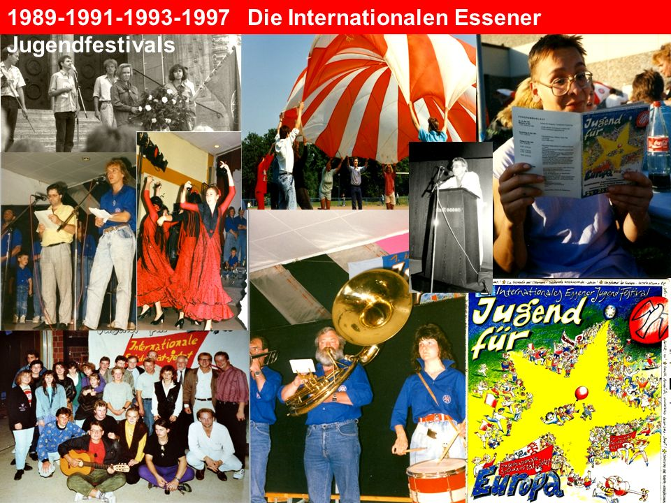 1989-1991-1993-1997 Die Internationalen Essener Jugendfestivals