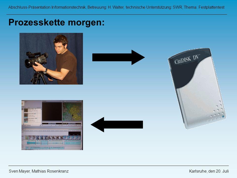 Abschluss-Präsentation Informationstechnik, Betreuung: H