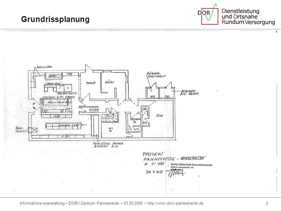 Grundrissplanung Informationsveranstaltung – DORV-Zentrum Pannesheide – 03.05.2009 – http://www.dorv-pannesheide.de.