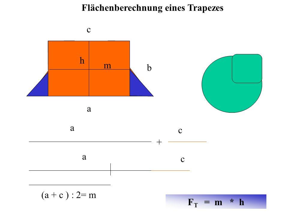 Flächenberechnung eines Trapezes