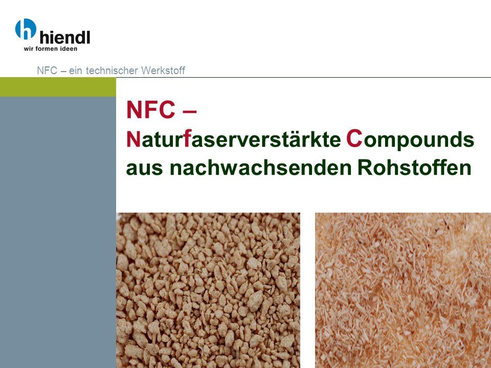 NFC – Naturfaserverstärkte Compounds aus nachwachsenden Rohstoffen