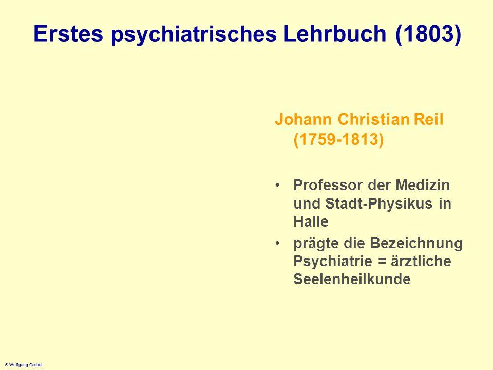 Erstes psychiatrisches Lehrbuch (1803)
