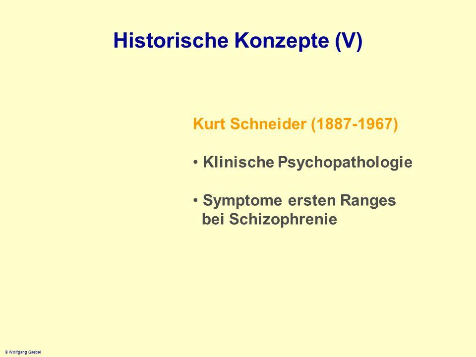 Historische Konzepte (V)