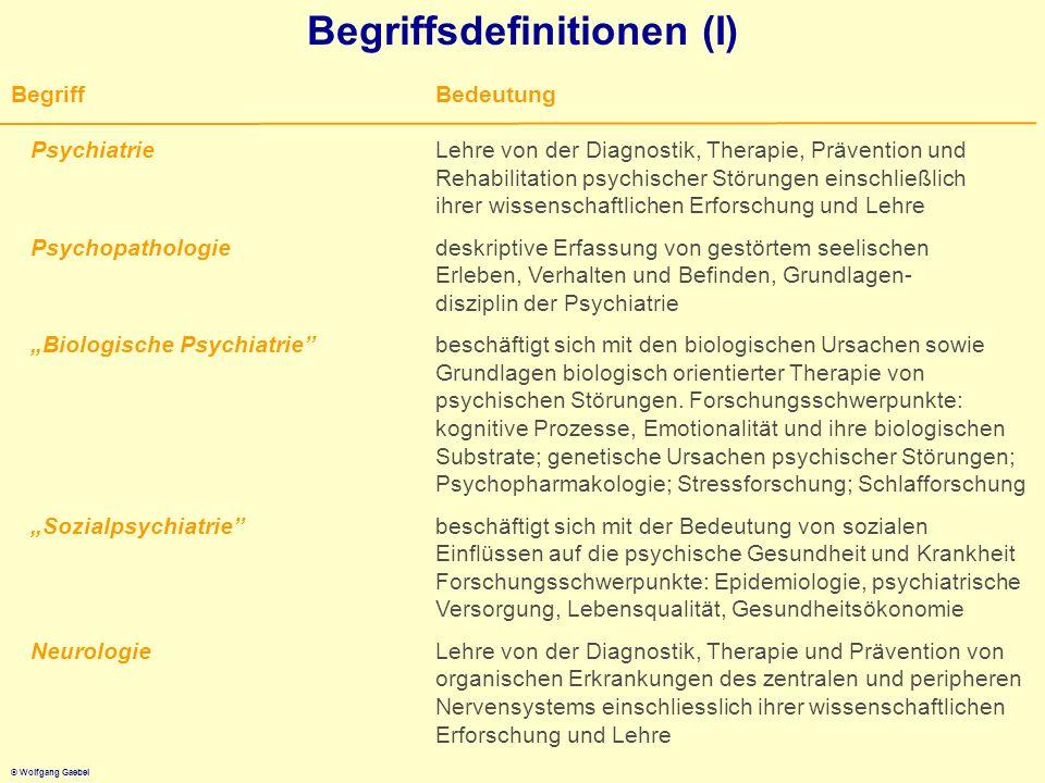 Begriffsdefinitionen (I)