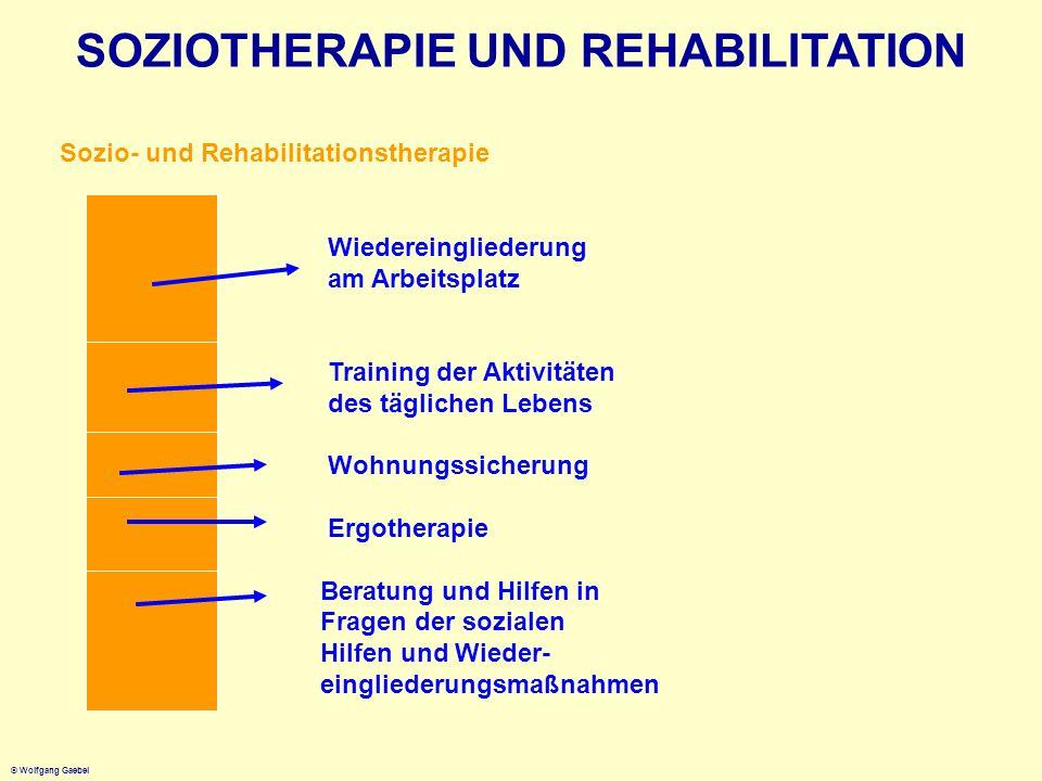 SOZIOTHERAPIE UND REHABILITATION