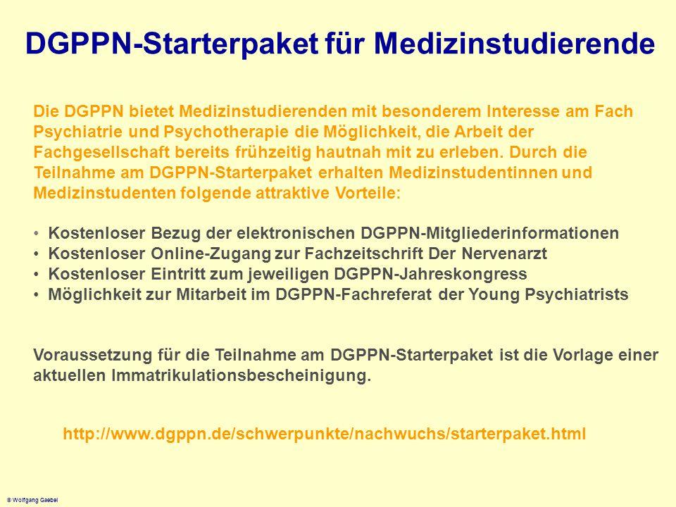DGPPN-Starterpaket für Medizinstudierende