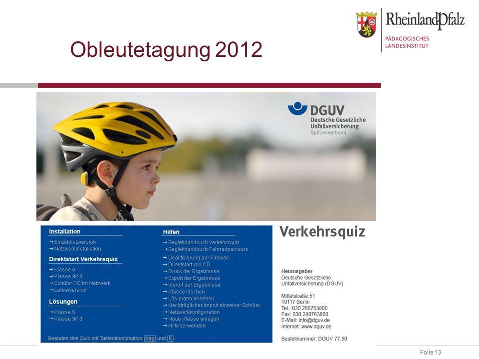 Obleutetagung 2012
