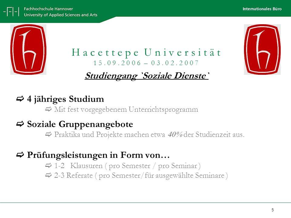 Studiengang `Soziale Dienste`