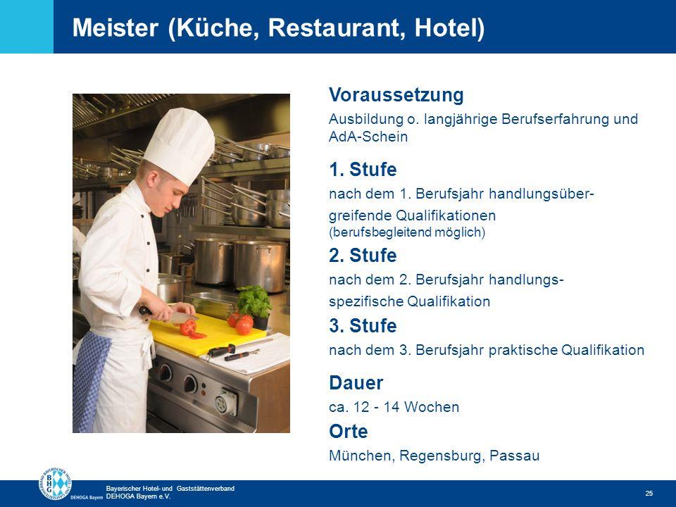 Meister (Küche, Restaurant, Hotel)