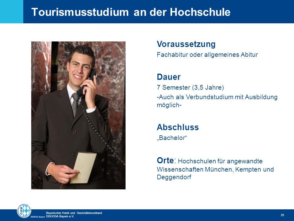 Tourismusstudium an der Hochschule