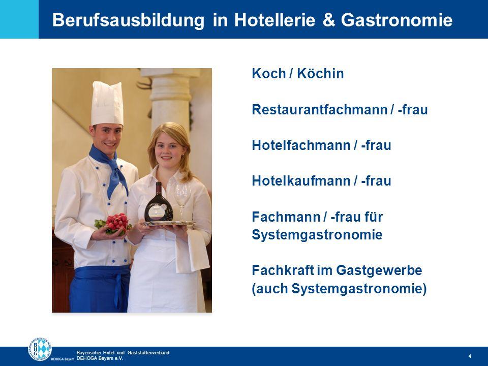 Berufsausbildung in Hotellerie & Gastronomie