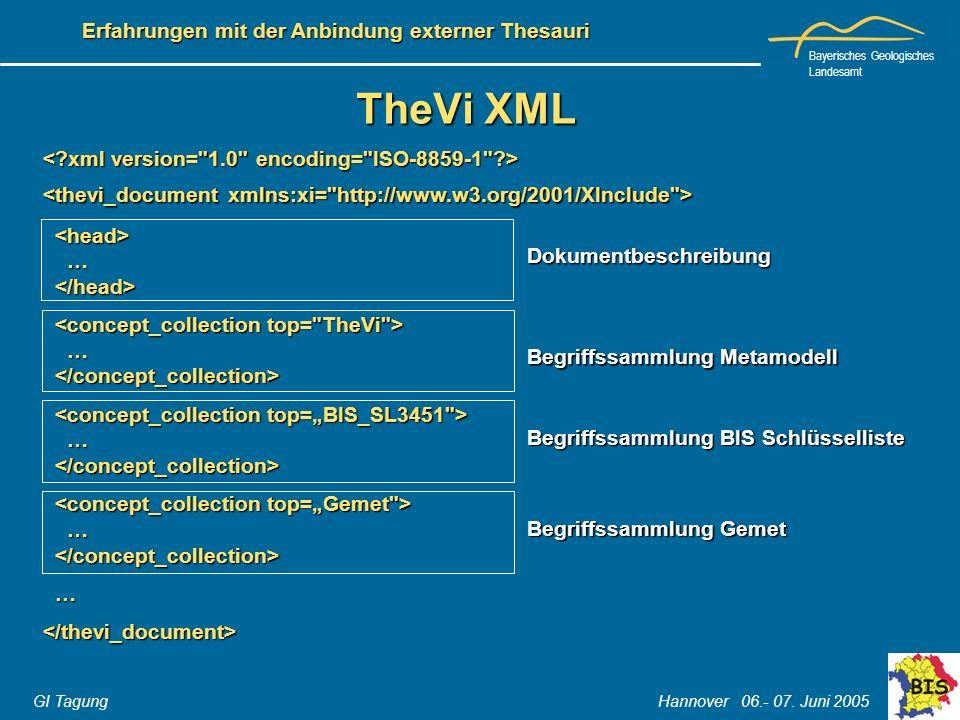 TheVi XML < xml version= 1.0 encoding= ISO-8859-1 >