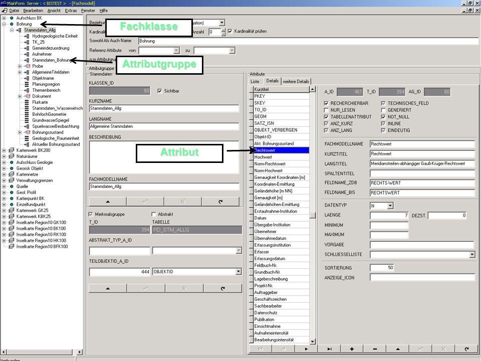 Metadaten-Pflegewerkzeug