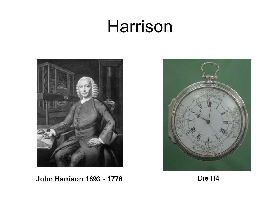 Harrison John Harrison 1693 - 1776 Die H4