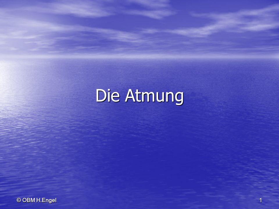 Die Atmung © OBM H.Engel
